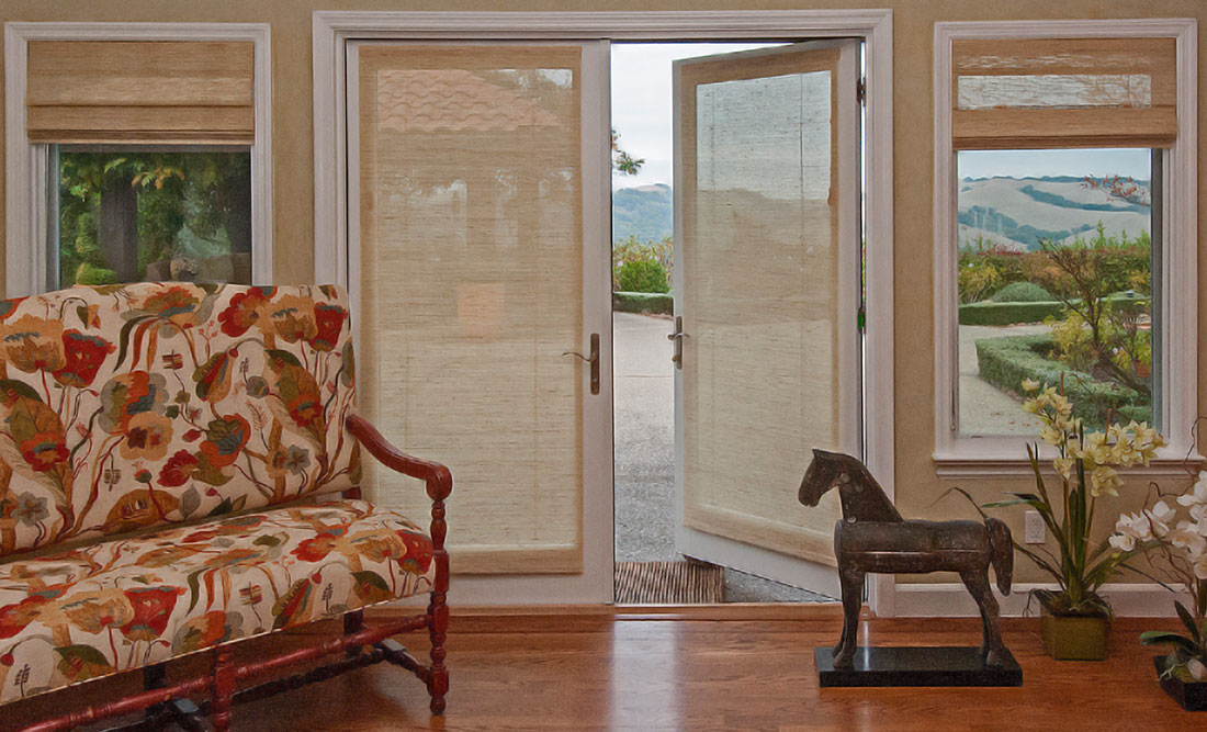 Enliven any room with custom Roman Shades