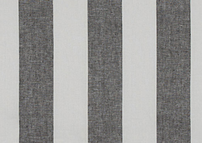 Striped Linen Gray & White